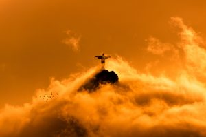 Jesus in Clouds by Sunset (By Donatas Dabravolskas (Own work) [CC BY-SA 4.09]